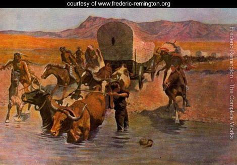 The Emigrants - Frederic Remington - www.frederic-remington.org