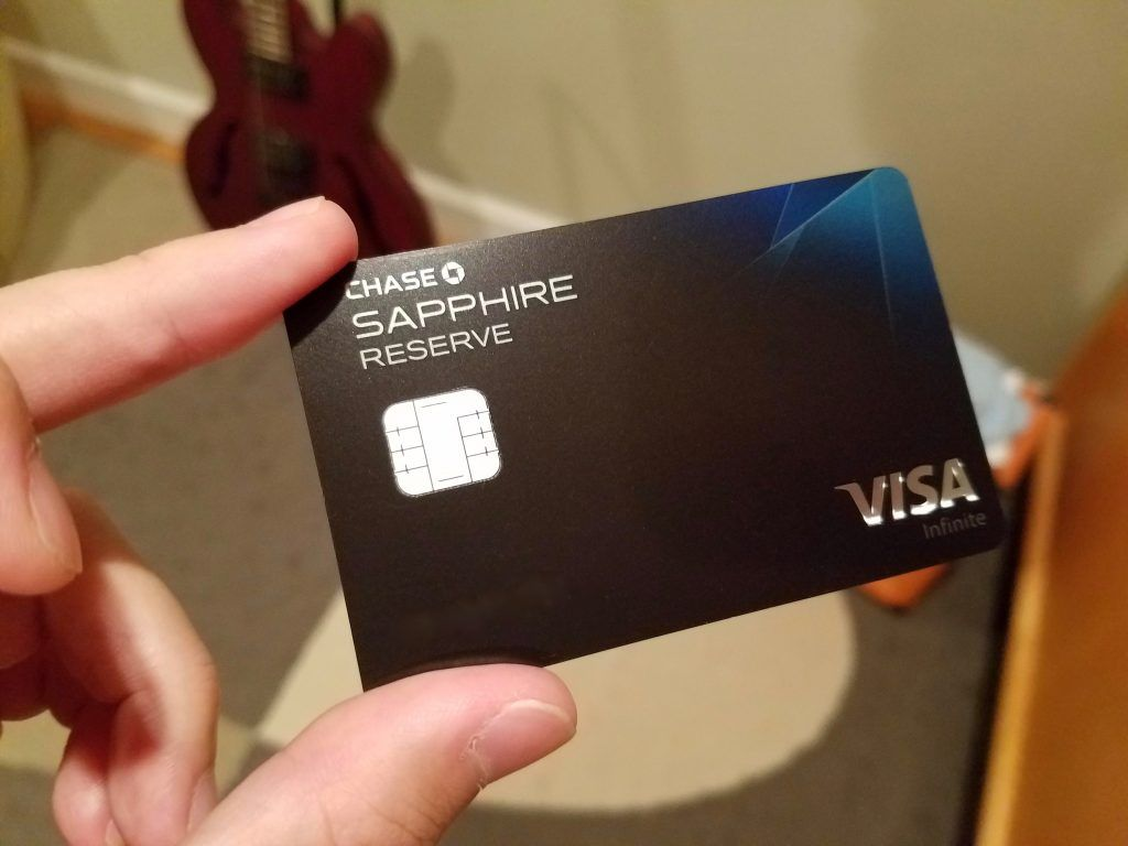 Chase sapphire reserve review debit card design credit