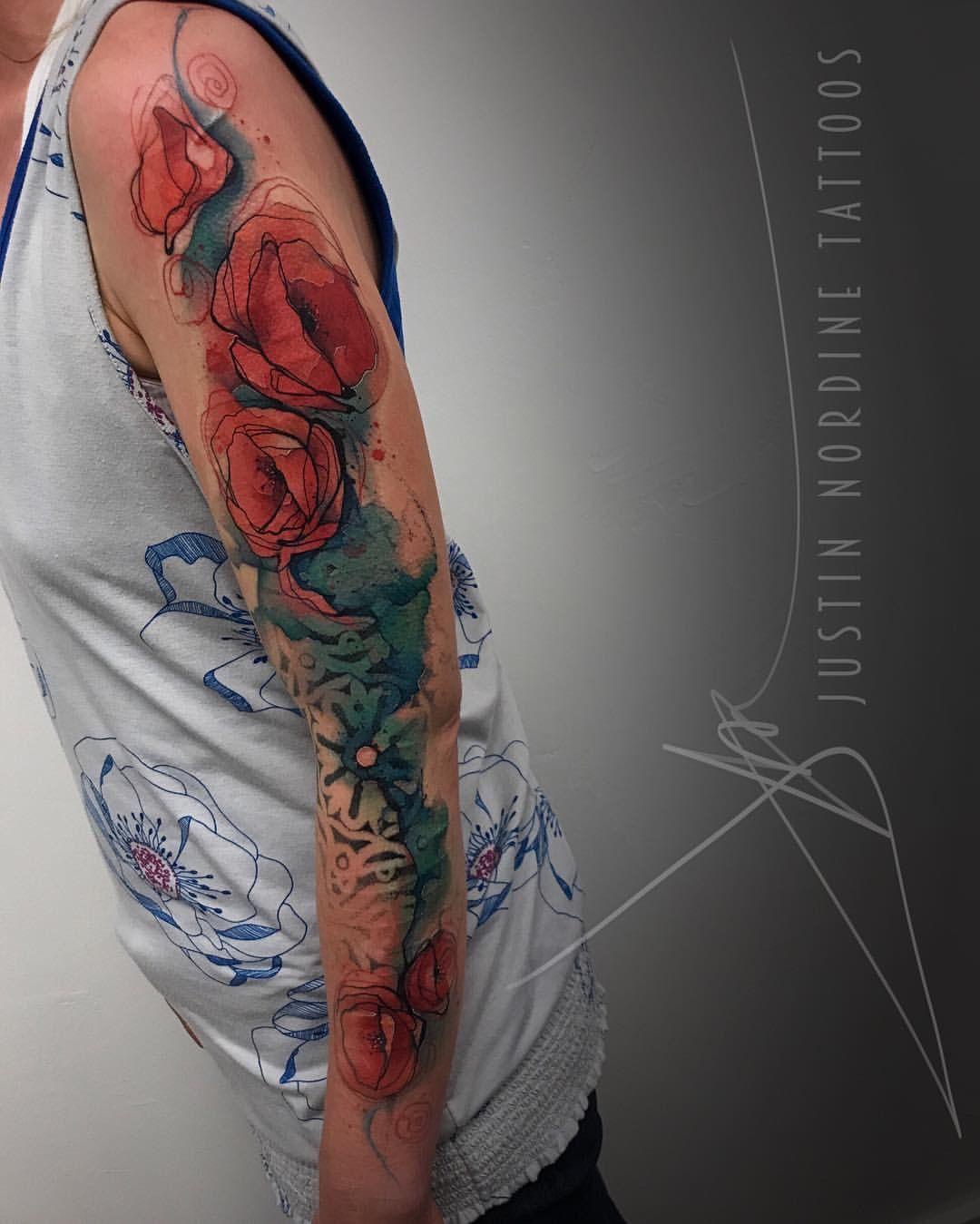 Pin by Digitalkg on Tattoos & Body Art Watercolor tattoo