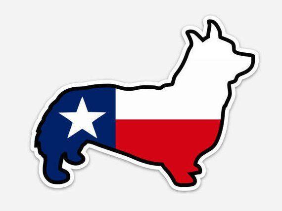 Texas Flag Pembroke (sticker) in 2020