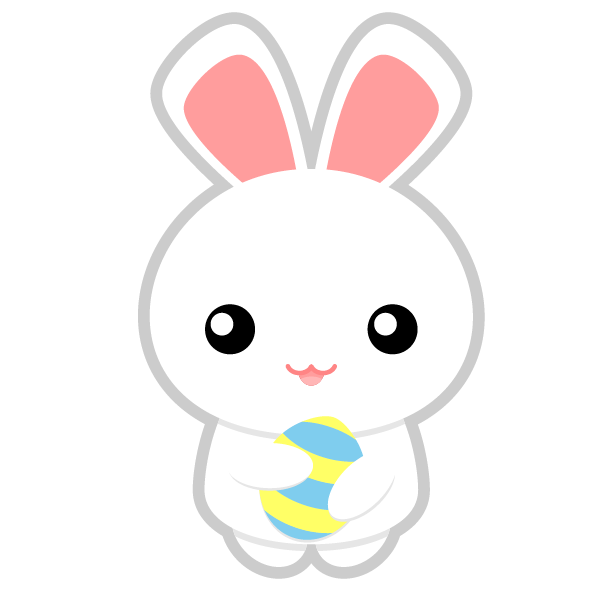 cute bunny clip art cute bunny clipart cute easter bunny holding rh pinterest com cute bunny clipart free cute bunny clipart images