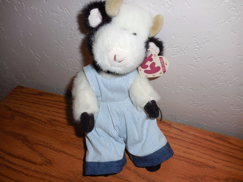 TY MADISON 1993 COW 6035 PLUSH WITH TAG 8