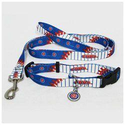Hunter Manufacturing #ChicagoCubs Large #MLB Dog #Collar & #Leash Set