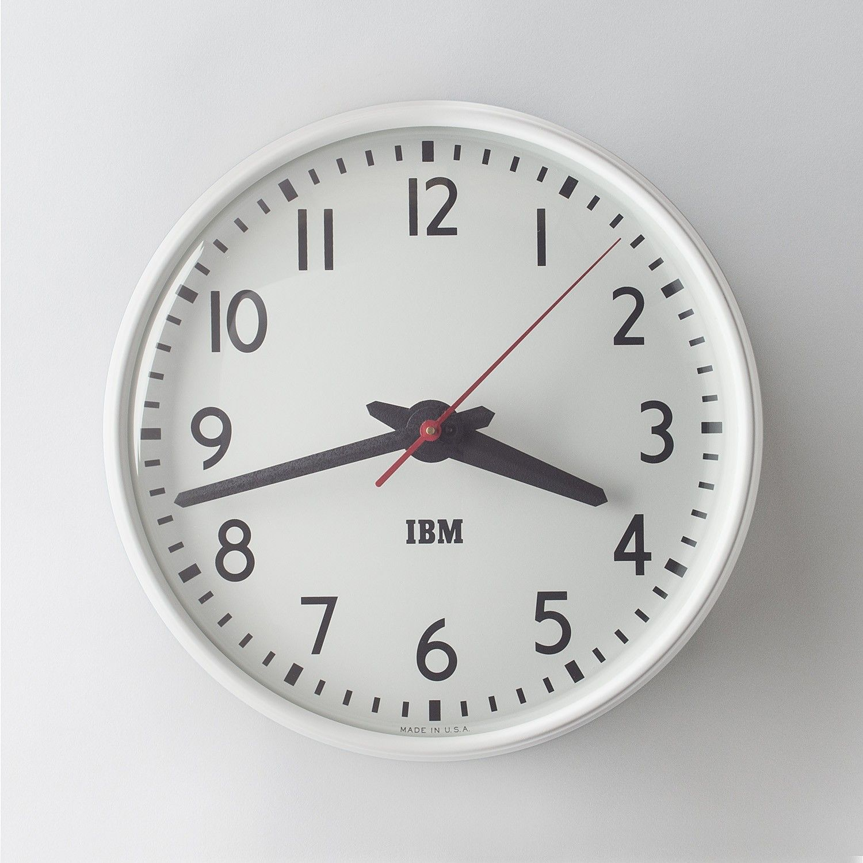 wall clocks for office. Office Clock Wall. 1960s IBM Standard Issue Clock. CalendarClock WallHand Wall O Clocks For