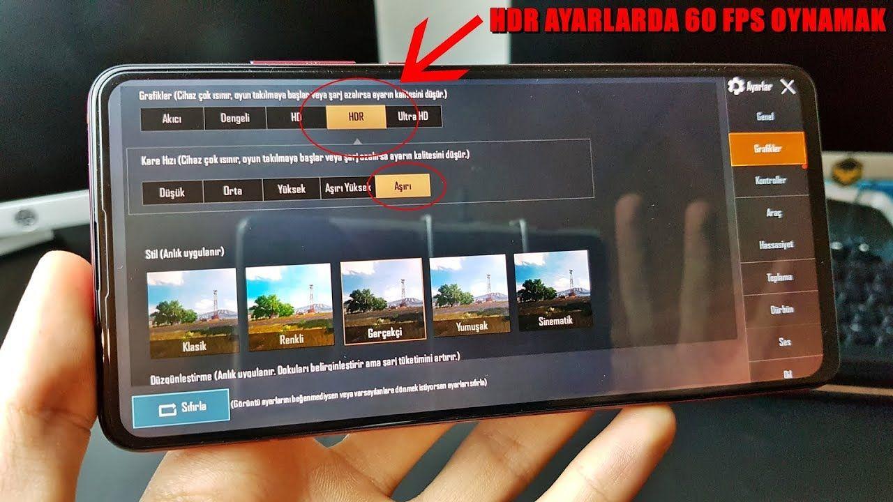 Xiaomi Mi 9t 60 Fps Hdr Ayarlarda Pubg Mobile Oynamak Ayarlarda Envoi Fps Gratuit Hdr Mi Mobile Newxiaomi Newxiaomiphone Oynama Xiaomi Telephone Fps