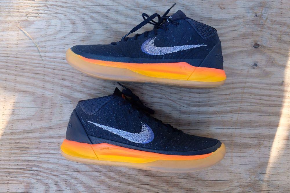Nike Kobe AD Mid Rise in Obsidian White & Mega Blue Mens