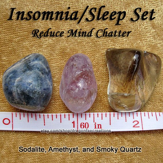 Amethyst, Sodalite, and Smoky Quartz — Sleep with these