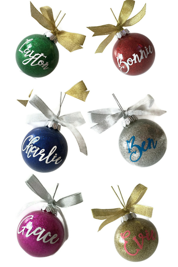 Personalised Large Glitter Bauble In Gift Box Christmas Tree Decoration Choice Of 6 Colou Etsy Christmas Handmade Christmas Decorations Xmas Tree Decorations