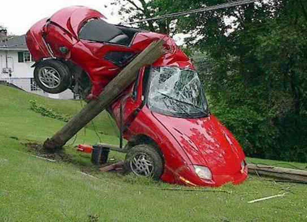 Dwi car wreck bad car wrecks pinterest cars