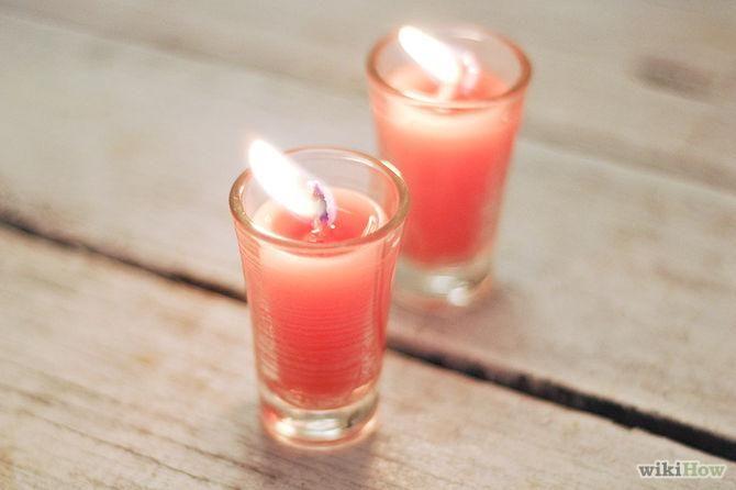 DIY Candles DIY Shot Glass Candles DIY Candles