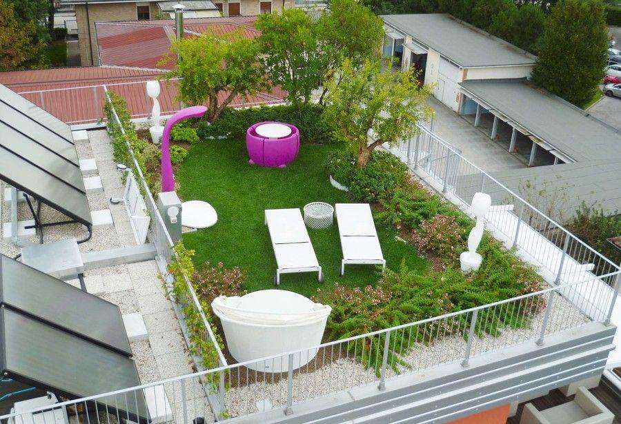 giardino pensile Arredamento giardino piccolo, Giardino