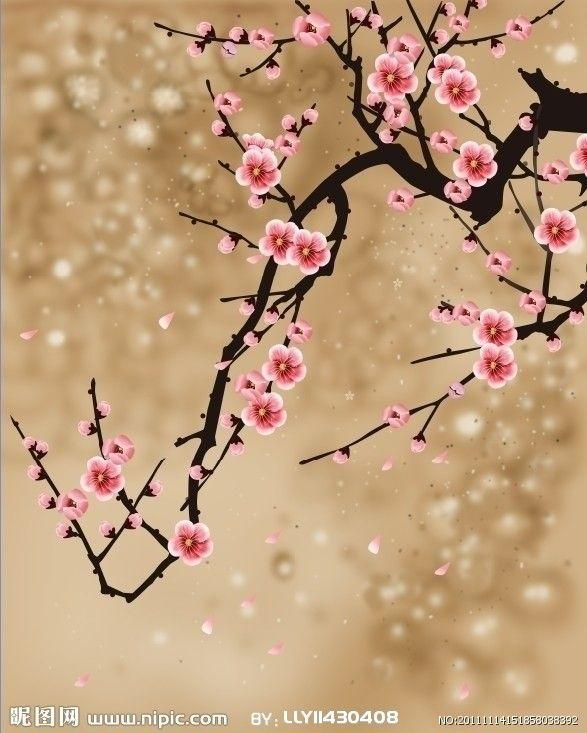 Pretty Peach Blossoms Cherry Blossom Wallpaper Cherry Blossom Art Peach Blossom Tree