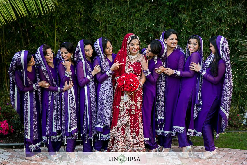 Indian wedding inspiration for bridesmaid dresses | Wedding ...