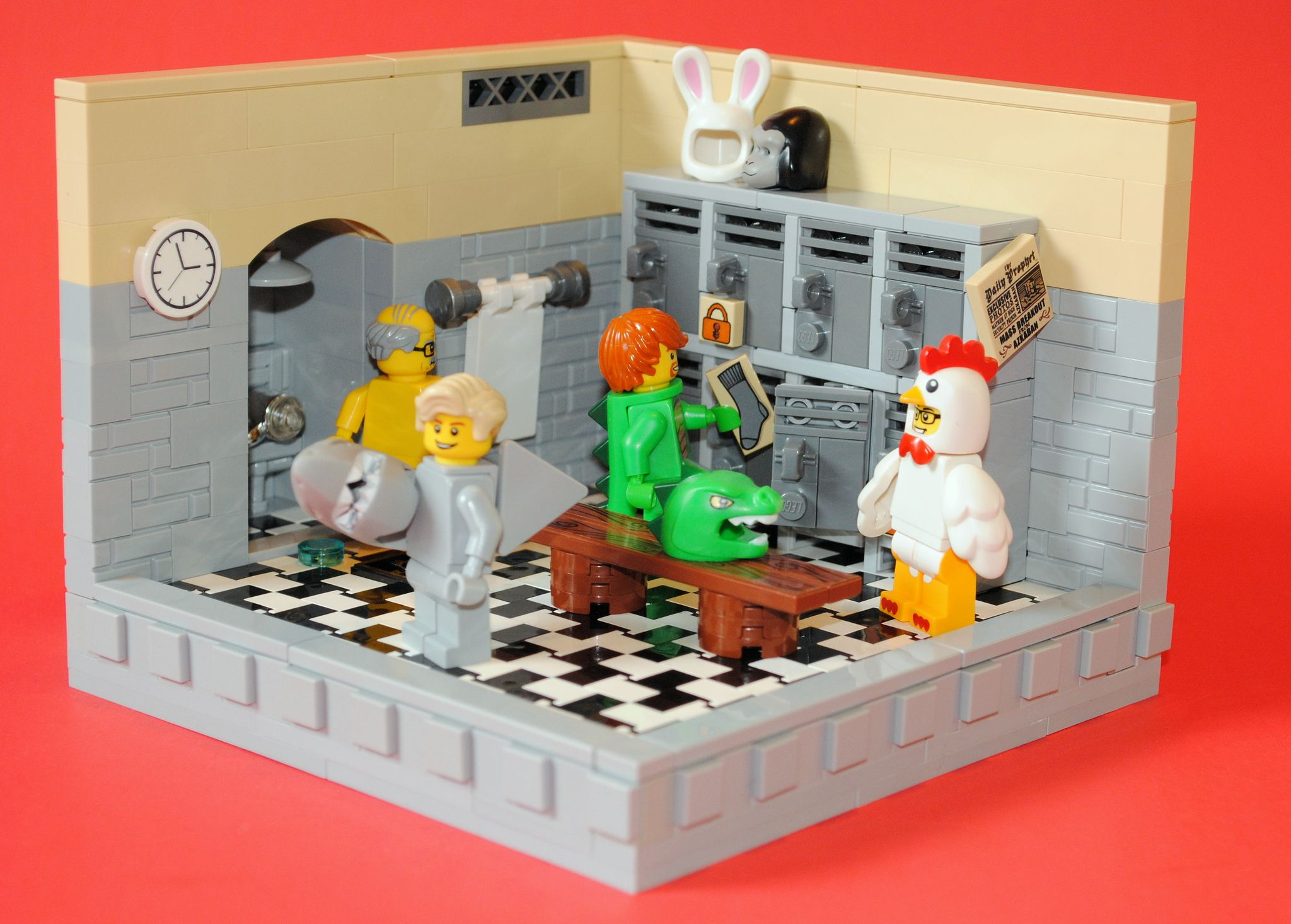 Lego Locker Room