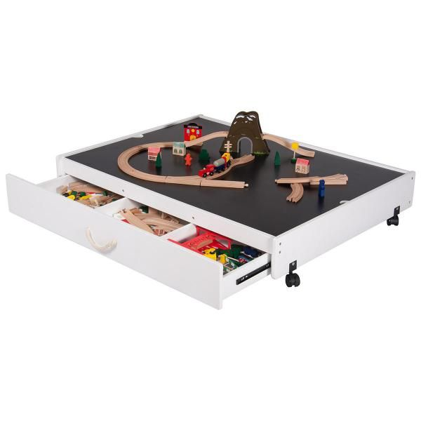 Dealsdirect Underbed Play Table With Drawer Play Table Table