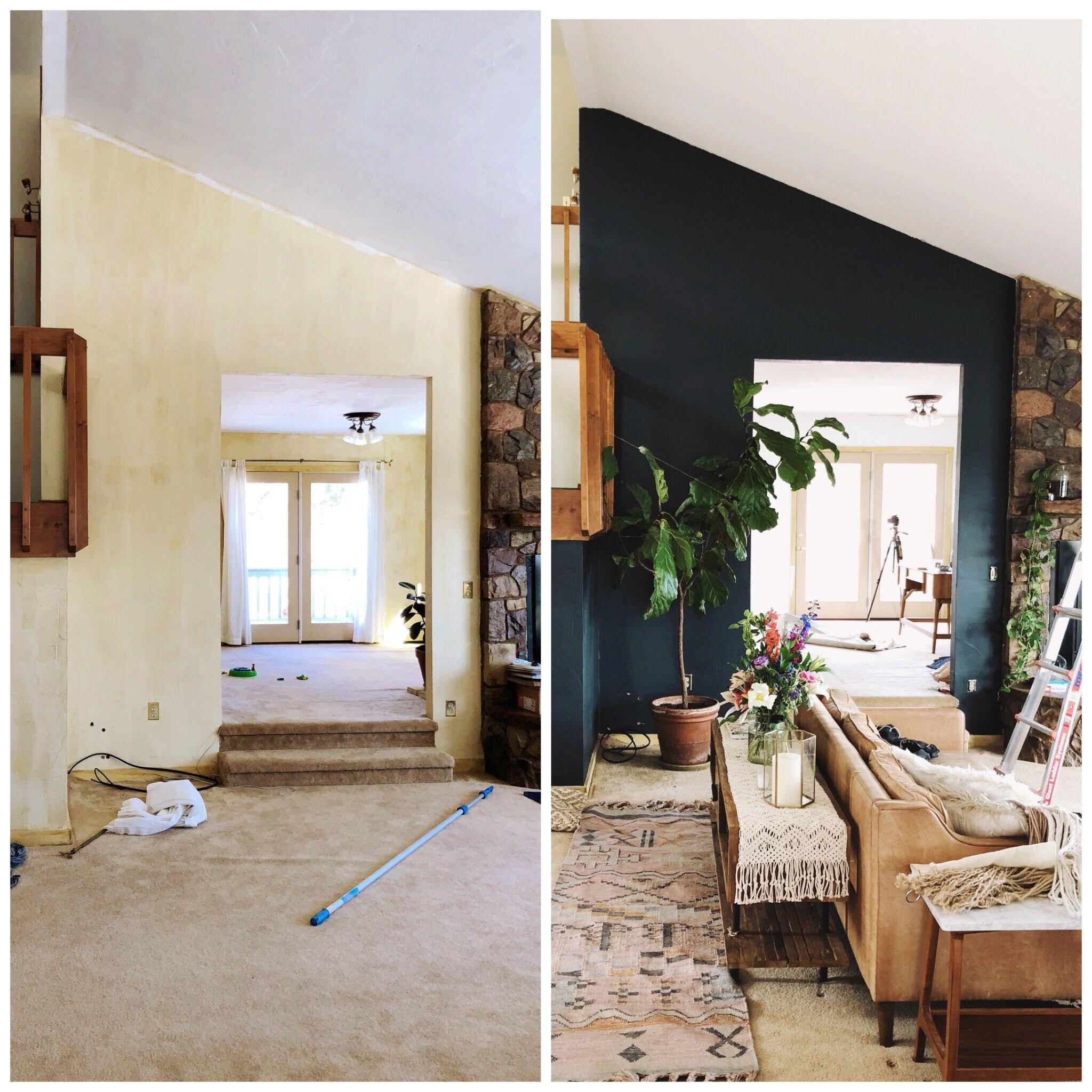 Simons Elk Creek Ranch Living Room Painting In Progress Small Modern Living Room Living Room Design Modern Condo Living Room #ranch #living #room #ideas