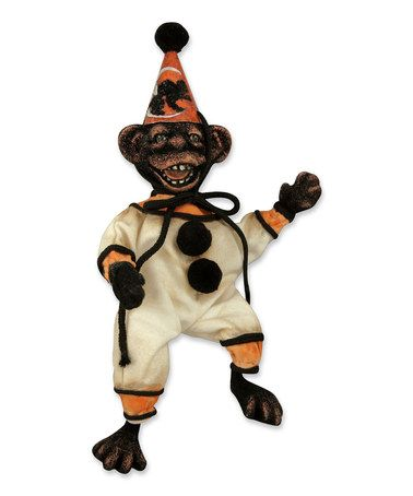 Another great find on #zulily! Halloween Monkey Business Figurine #zulilyfinds