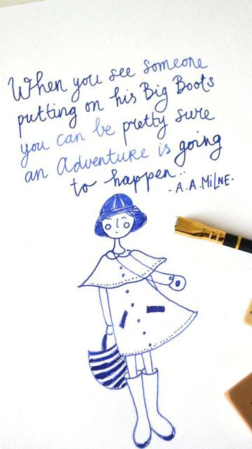 ingthings: Adventure: Gorgeous posters and cards in her webshop.