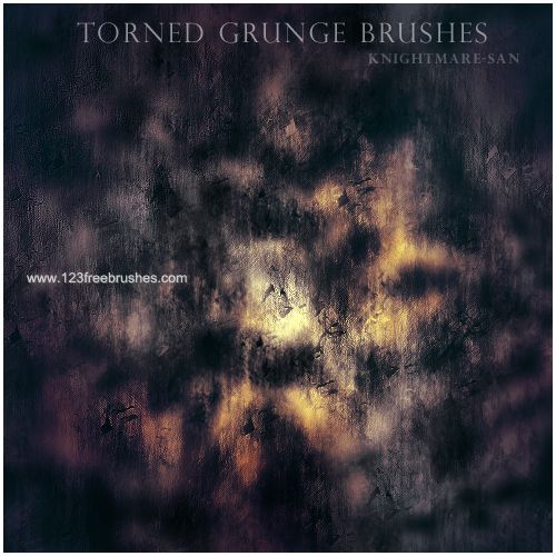 Torned Grunge - Download  Photoshop brush http://www.123freebrushes.com/torned-grunge/ , Published in #GrungeSplatter. More Free Grunge & Splatter Brushes, http://www.123freebrushes.com/free-brushes/grunge-splatter/ | #123freebrushes