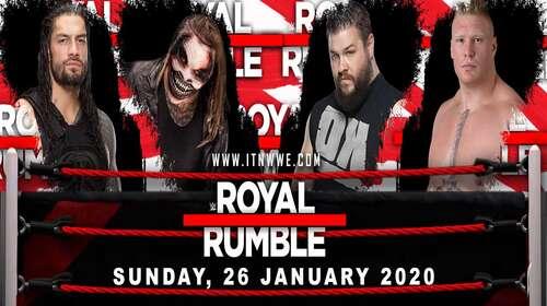 WWE Royal Rumble 26th January 2020 Full Show 720p 480p
