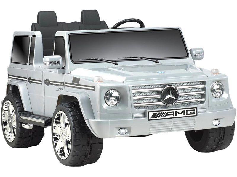 Mercedes Benz G55 Amg Wagon 2 Seat Ride On Suv Mercedes Mercedes Benz Trucks