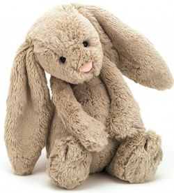 Jellycat Bashful Bunny Beige Large - Height 14 Inches $32.49 - from Well.ca