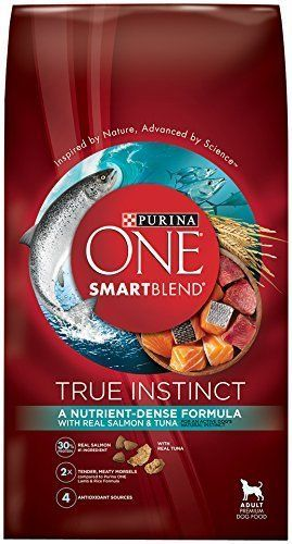 Purina One Smartblend Dry Dog Food True Instinct With Real Salmon