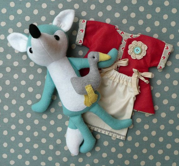Miss Foxy and Waddles PDF Sewing Pattern | Lila | Pinterest