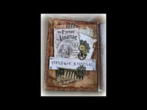 Vintage Journal by Annette Gearside