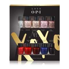 Opi Love Opi Xoxo Mini 10 Pack Holiday Set Nails Opi
