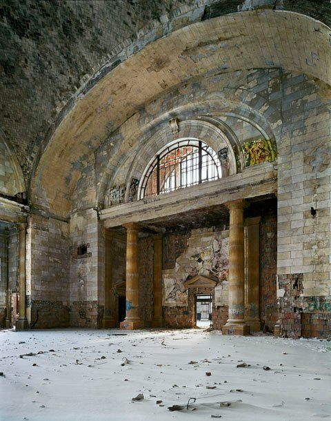 Abandoned 16th Street Train Station in West Oakland.