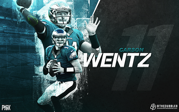 Nfl Wallpapers 2016 Personal Project On Behance Carson Wentz Wallpaper 2016 Carson
