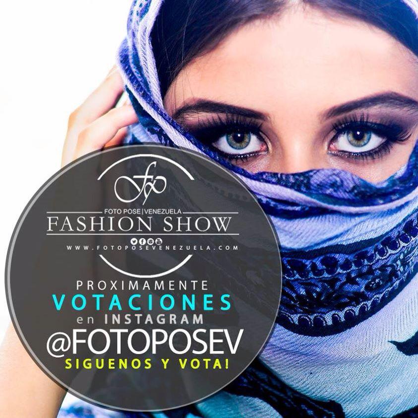 Próximamente votaciones por instagram @ FOTOPOSEV