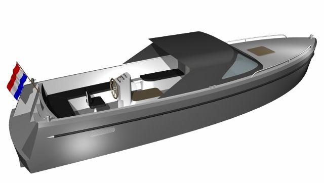 Jachtwerf Aluyard Aluminium Custom Build Boats Aluyard 850 Rond