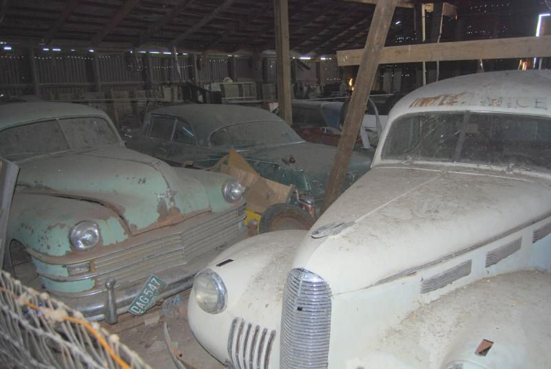 Forgotten, rotting car museum in Central Oregon