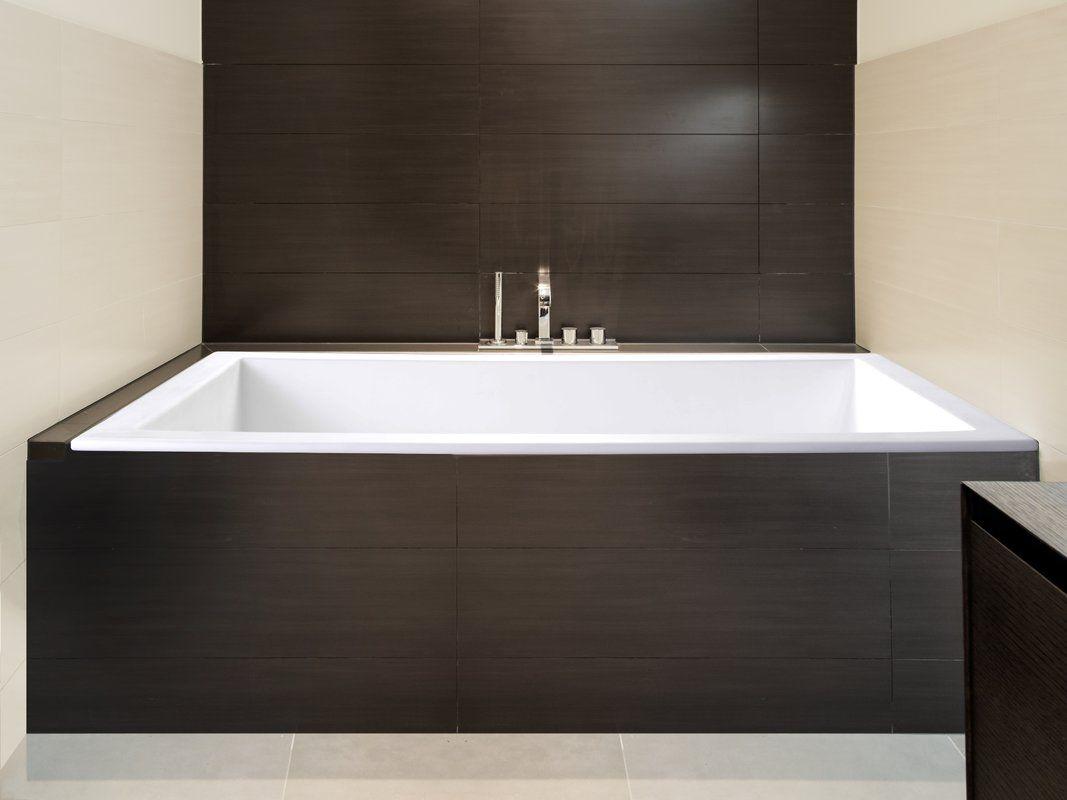 Sparta 60 X 32 Drop In Whirlpool Refinish Bathtub Soaking Bathtubs Bathtub Remodel