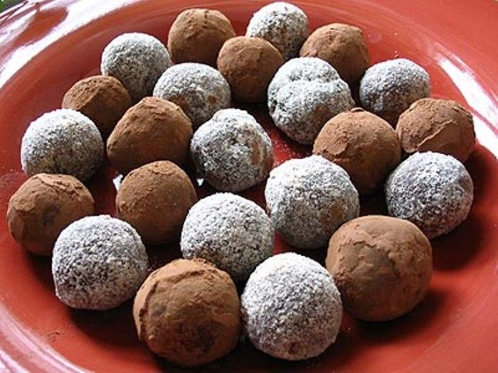 Kentucky Bourbon Balls--Some add mint, or slivers of nuts, and others add cherries. There is no wrong way to make them… unless you forget to add the bourbon.