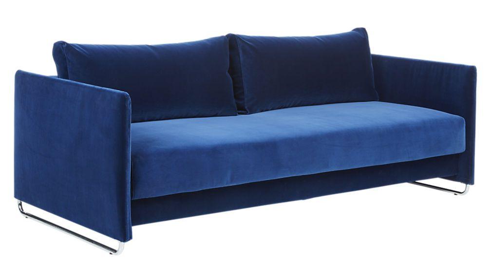 Tandom Navy Sofa With Images Sofa Velvet Sleeper Sofa Navy Blue Velvet Sofa
