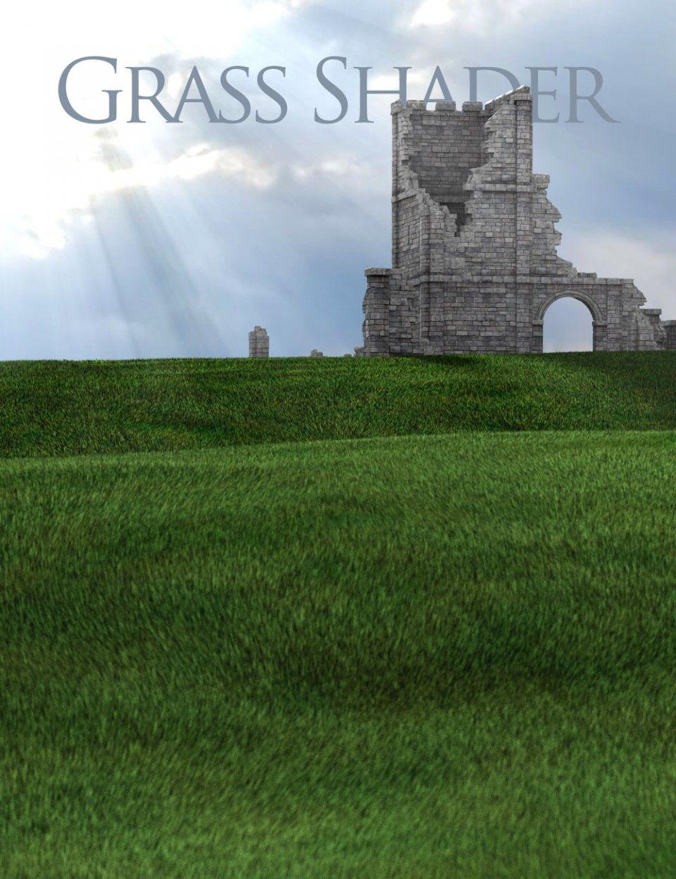 Grass Shader For Daz Studio Garden In The Woods Grass Studio
