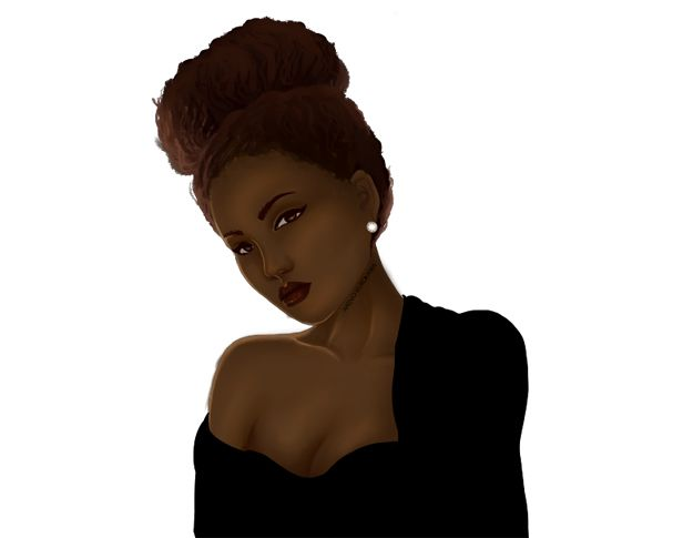 Morena cabelo afro cheio - 1 part 2