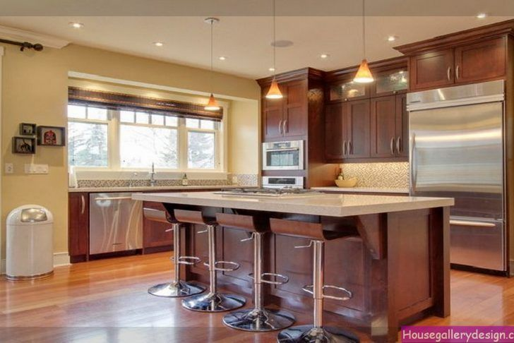 Kitchen Wall Color With Cherry Cabinets | MyCoffeepot.Org