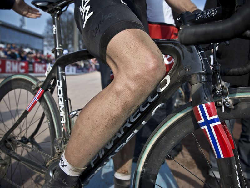Team Sky | Pro Cycling | Photo Gallery | Scott Mitchell - Paris-Roubaix Gallery - 2013
