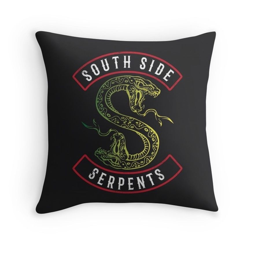 Riverdale South Side Serpents Throw Pillow Pinterest Throw Impressive Riverdale Decorative Pillows