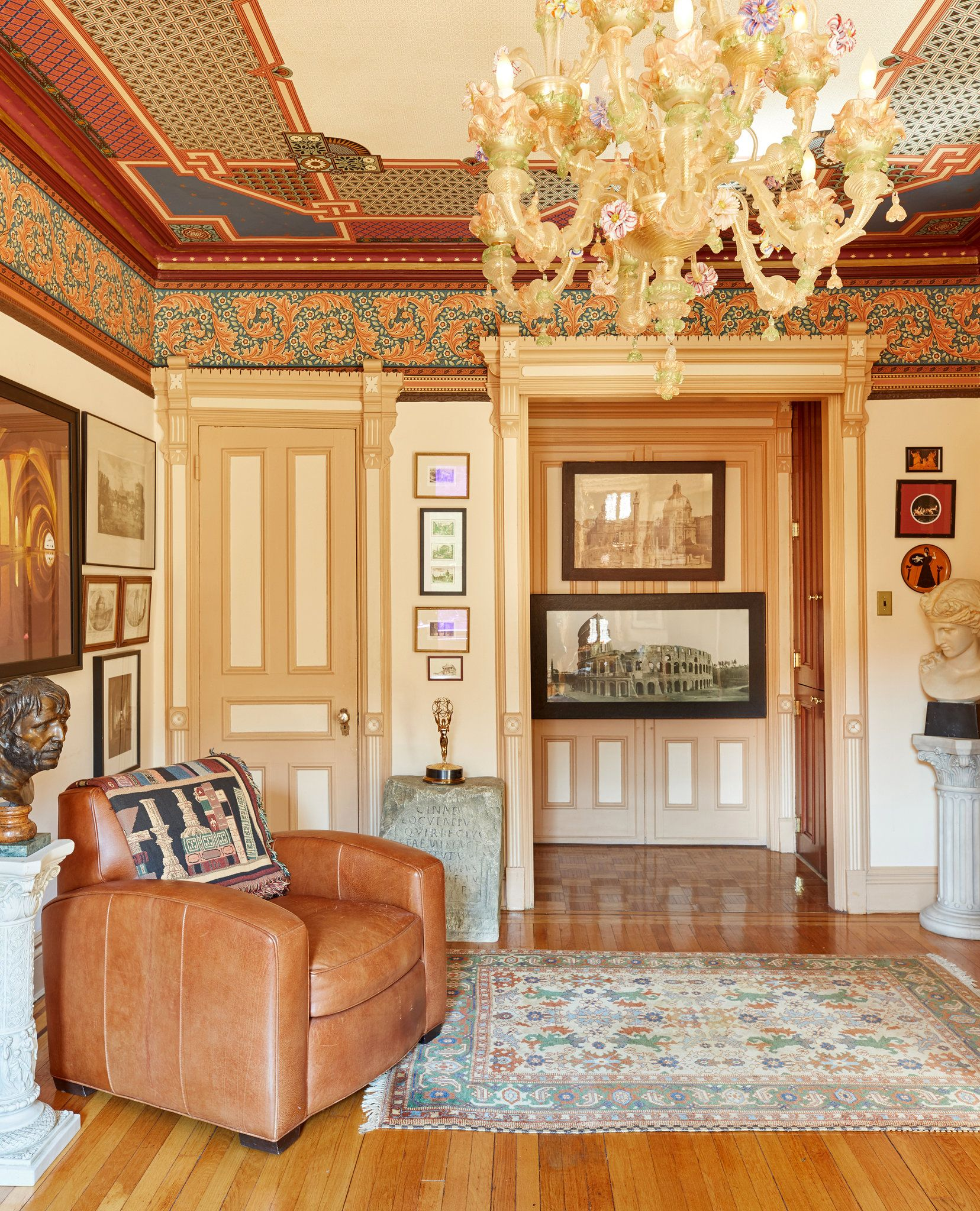 A Boarding House Transformed By Victorian Splendor  In The
