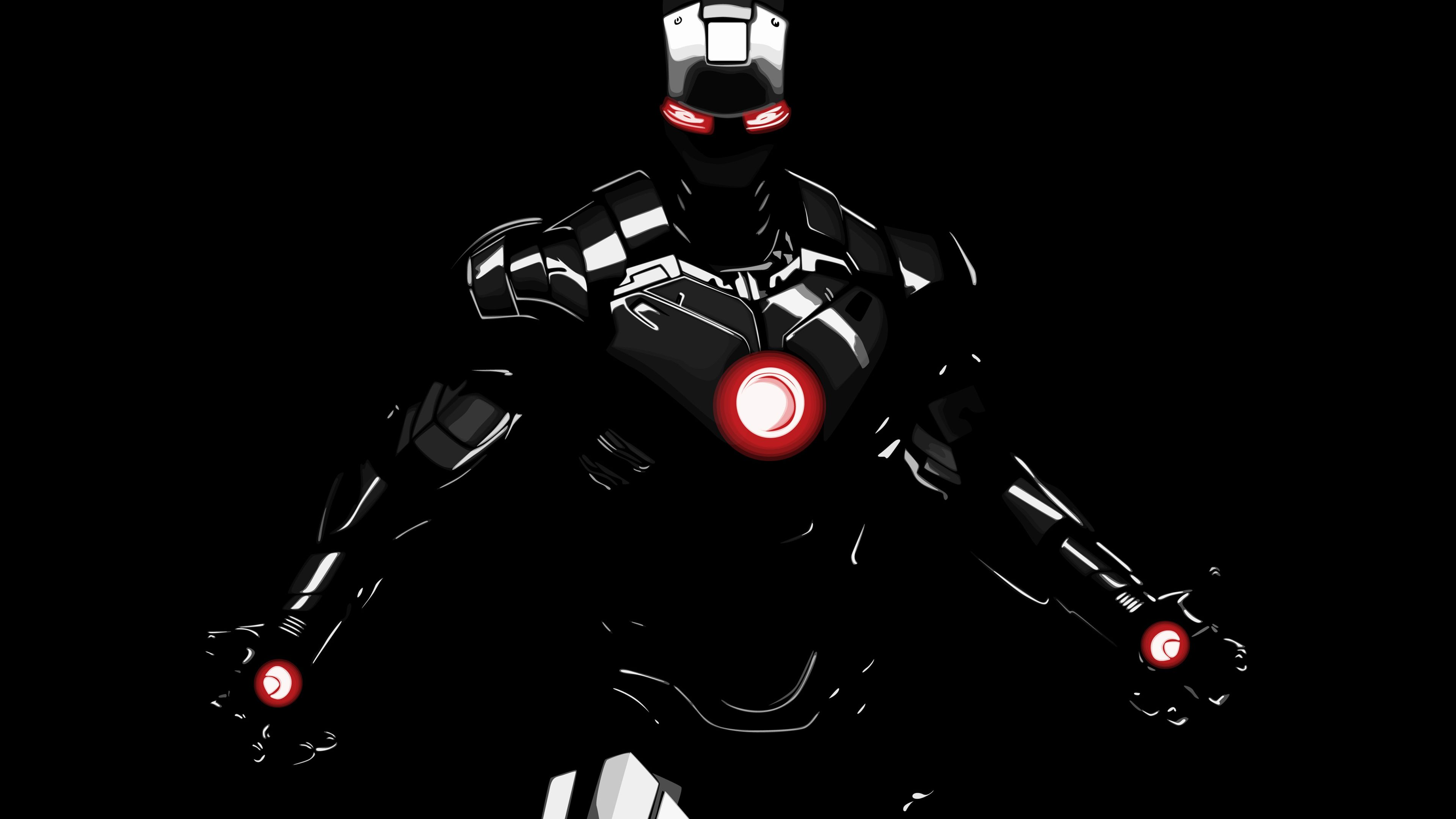 Dark Iron Man 4k Superheroes Wallpapers Iron Man Wallpapers Hd Wallpapers Digital Art Wallpapers Behance W Iron Man Wallpaper Iron Man Photos Man Wallpaper