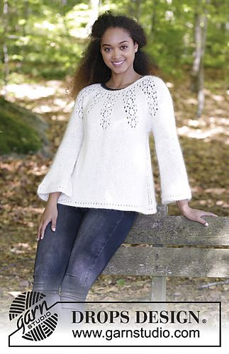 Photo of 179-8 Nineveh Jumper pattern by DROPS design