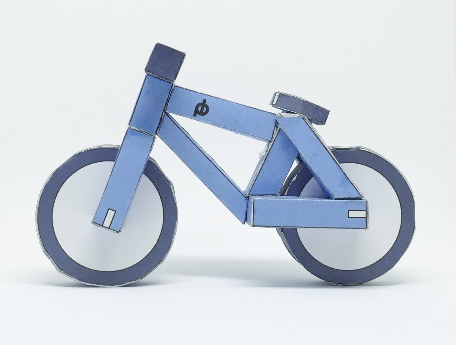 4x6 the tiny cyclist