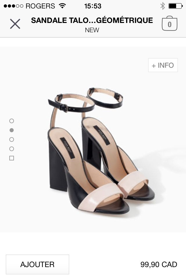 Zara shoes summer 2015 - perfect sandals