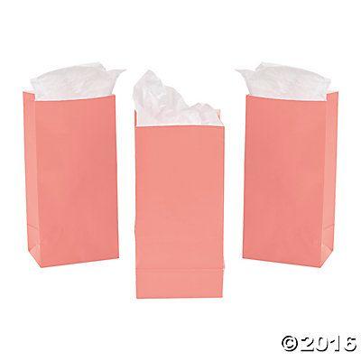 Mini Coral Treat Bags