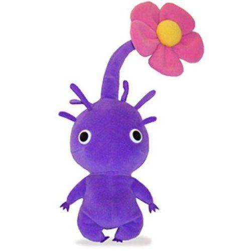 Pikmin 2 Plush 7 Purple Flower Sanei Http Smile Amazon Com Dp